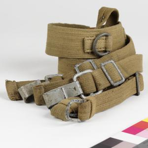 'Y' Strap equipment belt support braces, M1943 (canvas): German