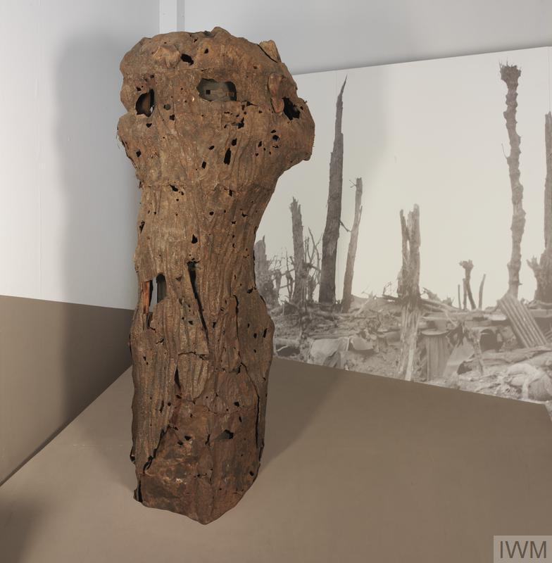 German 'Camouflage Tree' Observation Post Made To Resemble
