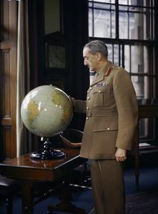 GENERAL SIR ALAN BROOKE, CHIEF OF GENERAL STAFF, 1942