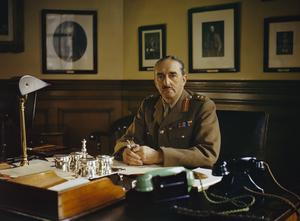 GENERAL SIR ALAN BROOKE, CHIEF OF GENERAL STAFF, 1942