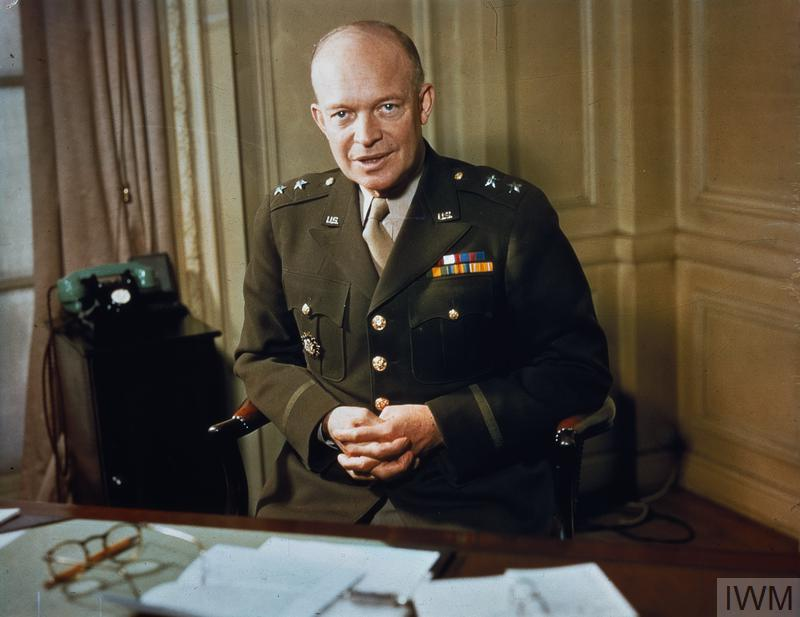 MAJOR GENERAL DWIGHT EISENHOWER, 1942