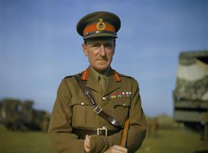 THE COMMANDER IN CHIEF HOME FORCES, GENERAL SIR BERNARD PAGET, OCTOBER 1942