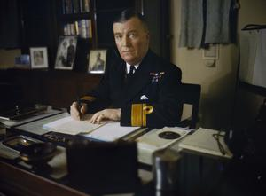 REAR ADMIRAL SIR ROBERT L BURNETT, NOVEMBER 1942