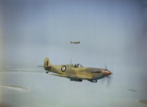 COLLABORATION BETWEEN ROYAL AIR FORCE SPITFIRES AND THE EIGHTH ARMY DURING THE TUNISIAN CAMPAIGN, SPRING 1943