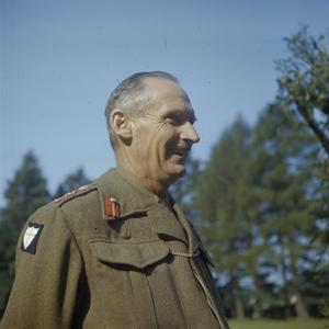 GENERAL SIR BERNARD MONTGOMERY IN ENGLAND, 1943