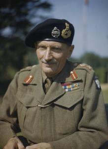 GENERAL SIR BERNARD MONTGOMERY IN ENGLAND, 1943