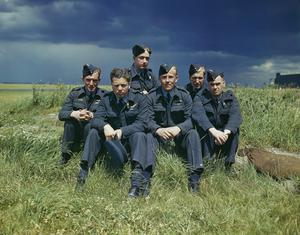 617 SQUADRON (DAMBUSTERS) AT SCAMPTON, LINCOLNSHIRE, 22 JULY 1943