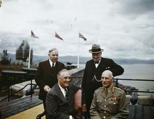 THE QUEBEC CONFERENCE, CANADA, AUGUST 1943