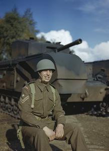 GUARDS ARMOURED TRAINING WING, PIRBRIGHT, SURREY, OCTOBER 1943