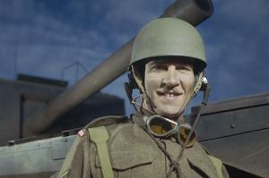 GUARDS ARMOURED TRAINING WING, PIRBRIGHT, SURREY, NOVEMBER 1943