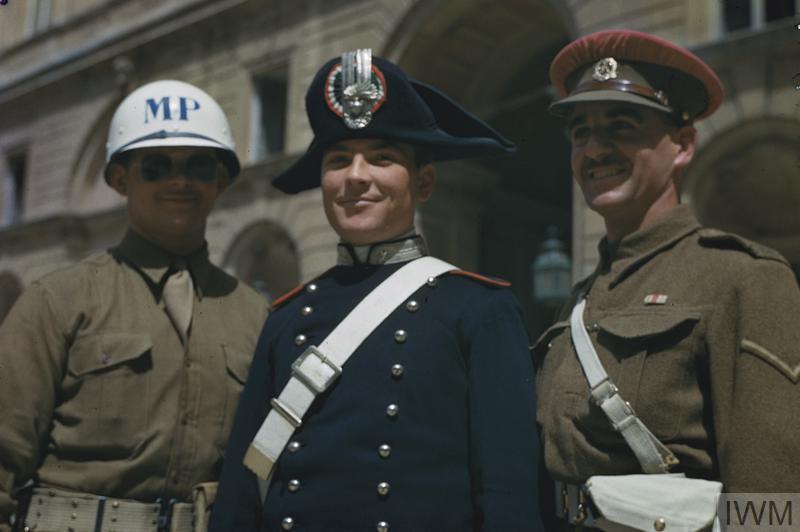 International Police Caserta Italy 6 May 1944 Tr 1770