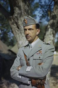 HRH PRINCE UMBERTO OF ITALY, MAY 1944