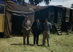 THE PRIME MINISTER, WINSTON CHURCHILL VISITS NORMANDY, 12 JUNE 1944