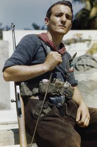 AN ITALIAN PARTISAN IN FLORENCE, 14 AUGUST 1944