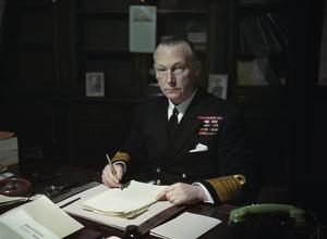 ADMIRAL OF THE FLEET SIR JOHN CRONYN TOVEY, GCB, KBE, DSO
