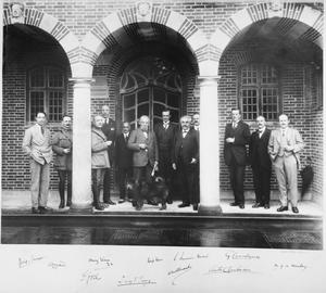 THE FIRST LYMPNE (HYTHE) PEACE CONFERENCE, MAY 1920