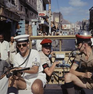 BRITISH FORCES IN ADEN, 1965 - 1966