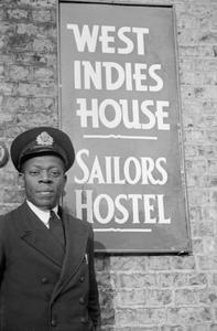 WEST INDIES MERCHANT SEAMEN'S HOSTEL, NEWCASTLE-UPON-TYNE, ENGLAND, 1941