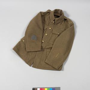 Jacket, 1907 pat. service dress: Durham Light Infantry, O/Rs