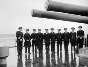THE SECOND WORLD WAR 1939 - 1945: NAVAL BATTLES