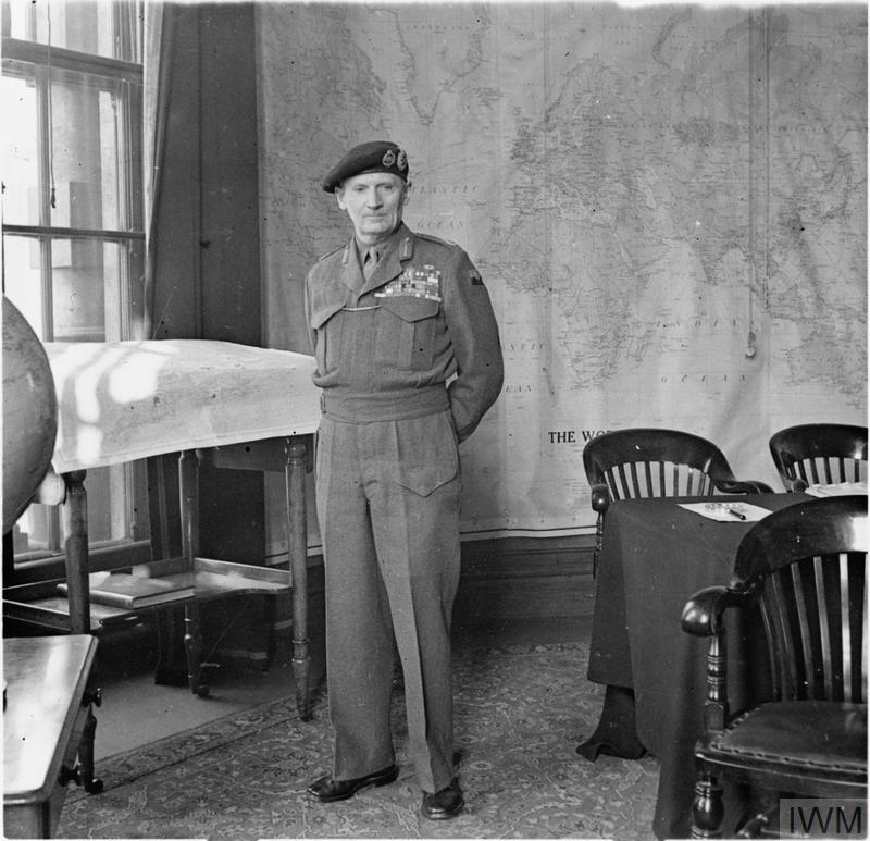 Field Marshal The Viscount Montgomery Of Alamein Kg Gcb