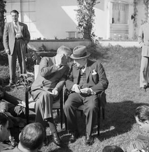 THE CASABLANCA CONFERENCE, JANUARY 1943