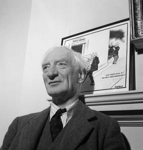 A PORTRAIT OF SIR WILLIAM BEVERIDGE, OXFORD, ENGLAND, UK, 1943