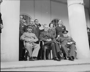THE TEHERAN CONFERENCE, 28 NOVEMBER - 1 DECEMBER 1943