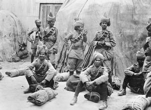 THE INDIAN ARMY DURING THE FIRST WORLD WAR