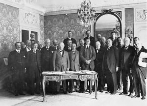 THE PARIS PEACE CONFERENCE, 1919 - 1920