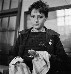 WAR COMES TO SCHOOL: LIFE AT PECKHAM CENTRAL SCHOOL, LONDON, ENGLAND, 1943