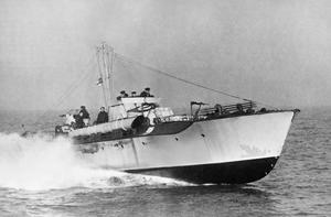 FIGHTER SEACRAFT: MOTOR TORPEDO BOATS, ENGLAND, UK, 1943