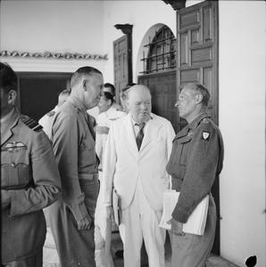 WINSTON CHURCHILL IN NORTH AFRICA