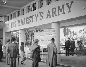 RECRUITMENT FOR THE BRITISH ARMY