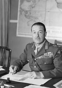 FIELD MARSHAL SIR HAROLD ALEXANDER, 1945