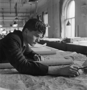 CECIL BEATON PHOTOGRAPHS: TYNESIDE SHIPYARDS, 1943