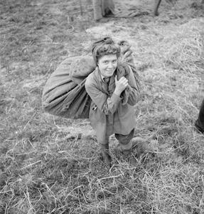 SELF-SUPPORTING VILLAGE: LIFE IN HOVINGHAM, YORKSHIRE,  ENGLAND, OCTOBER 1942