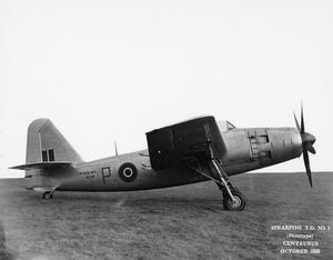 POST WAR BRITISH AIRCRAFT