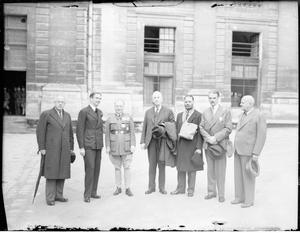 COMMONWEALTH REPRESENTATIVES VISITING FRANCE, NOVEMBER 1939