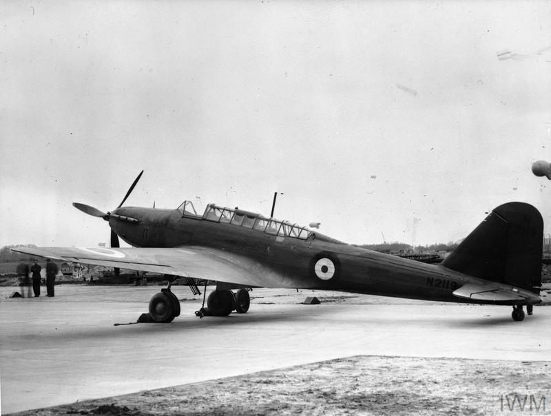 AIRCRAFT OF THE ROYAL AIR FORCE, 1939-1945: FAIREY BATTLE ...