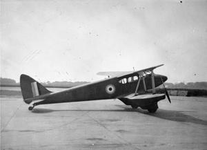 AIRCRAFT OF THE ROYAL AIR FORCE, 1939-1945: DE HAVILLAND DH.90 DRAGONFLY.