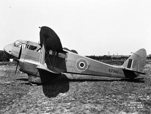 AIRCRAFT OF THE ROYAL AIR FORCE, 1939-1945: DE HAVILLAND DH.89 RAPIDE AND DOMINIE.
