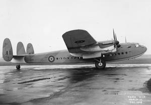 AIRCRAFT OF THE ROYAL AIR FORCE 1939-1945: AVRO 685 YORK.