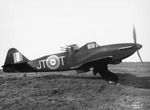 AIRCRAFT OF THE ROYAL AIR FORCE, 1939-1945: BOULTON PAUL P.82 DEFIANT.