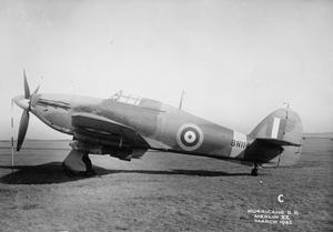 AIRCRAFT OF THE ROYAL AIR FORCE, 1939-1945: HAWKER HURRICANE.