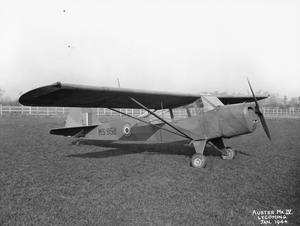 AIRCRAFT OF THE ROYAL AIR FORCE 1939-1945: TAYLORCRAFT AUSTER.