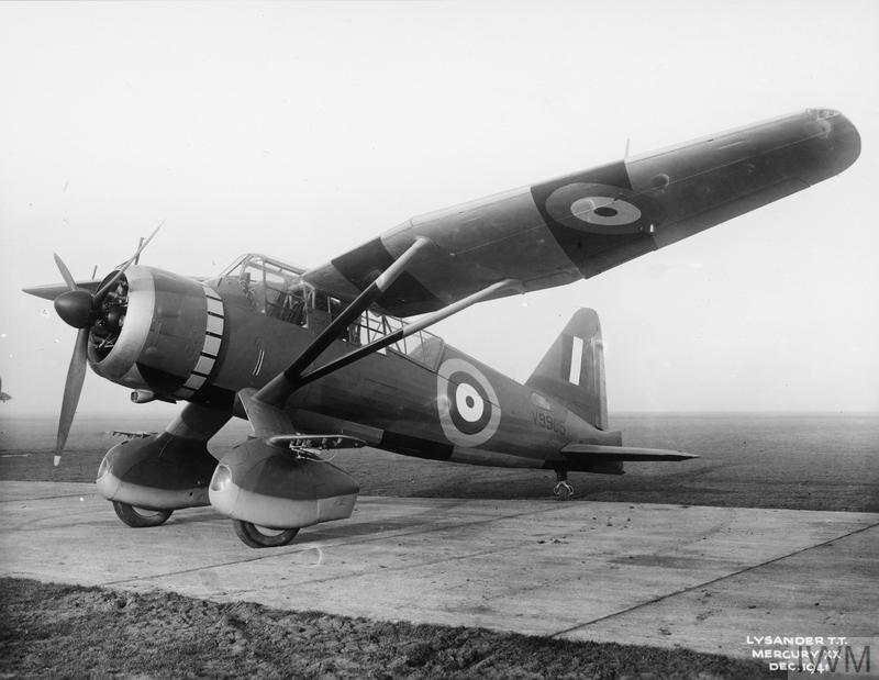 AIRCRAFT OF THE ROYAL AIR FORCE, 1939-1945: WESTLAND LYSANDER.
