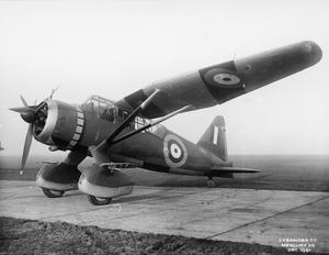 AIRCRAFT OF THE ROYAL AIR FORCE, 1939-1945: WESTLAND LYSANDER.