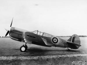 AMERICAN AIRCRAFT IN RAF SERVICE 1939-1945: CURTIS HAWK 87A KITTYHAWK.