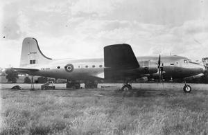 AMERICAN AIRCRAFT IN ROYAL AIR FORCE SERVICE 1939-1945: DOUGLAS SKYMASTER.